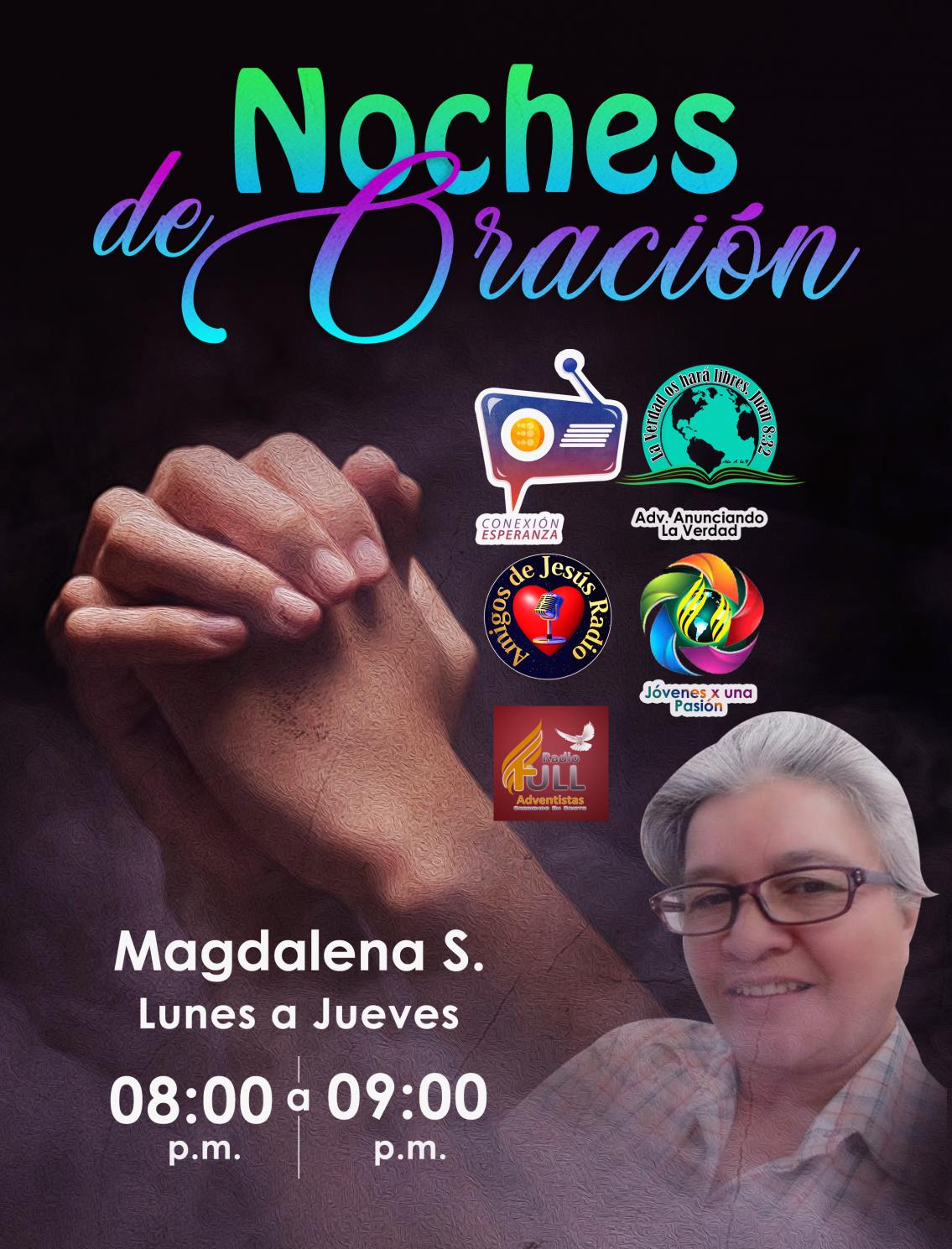 MAGDALENA SANTOS-noche de oracion2